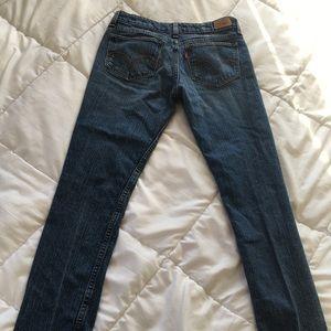 Levi's 518 Skinny Jeans Size 5 Medium
